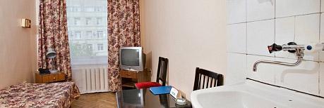 Одноместный эконом в гостинице Выборгская, г. Санкт-Петербург